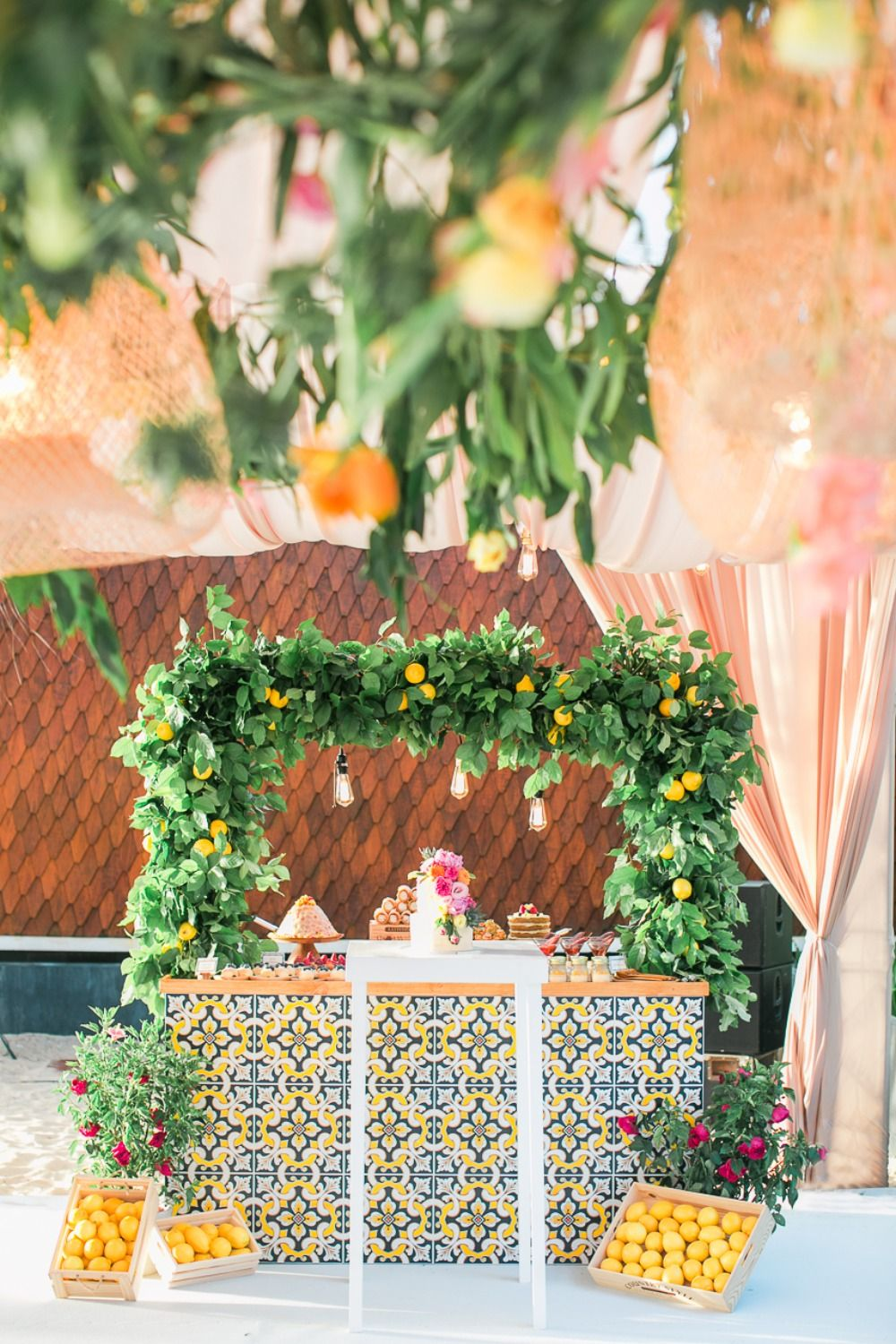 Colorful Destination Beach Wedding In Thailand Wedding Reception Entrance Tuscan Inspired Wedding Beach Destination Wedding