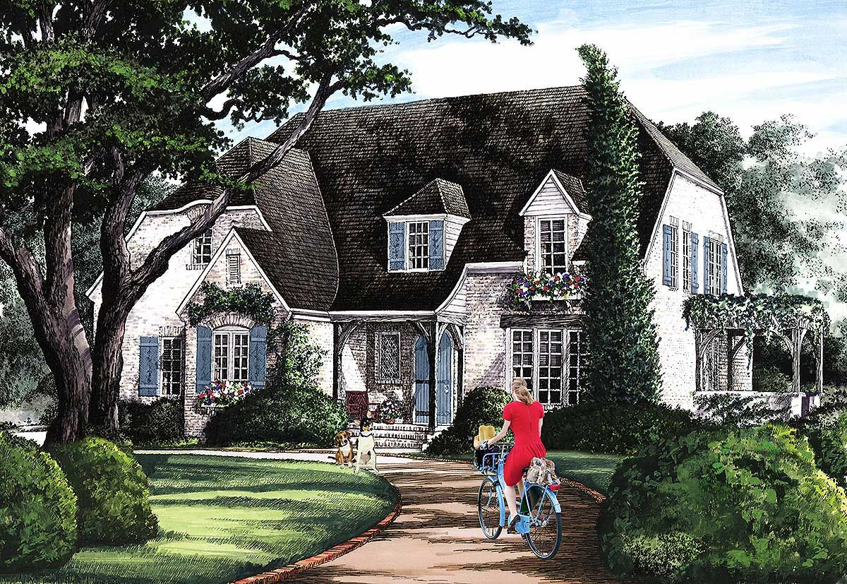 Plan 32612wp Four Or Five Bedrooms In 2020 Cottage Style House Plans Country Style House Plans Cottage House Plans