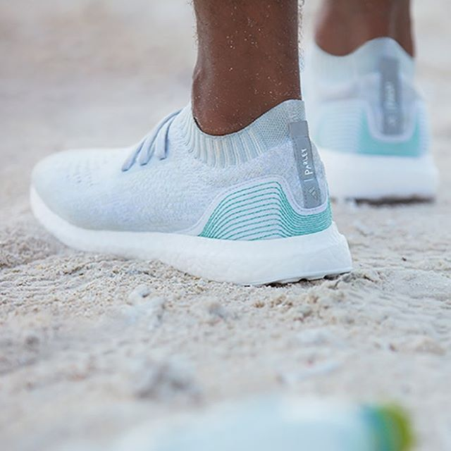 adidas Ultra Boost Uncaged x Parley made from recycled ocean plastic!