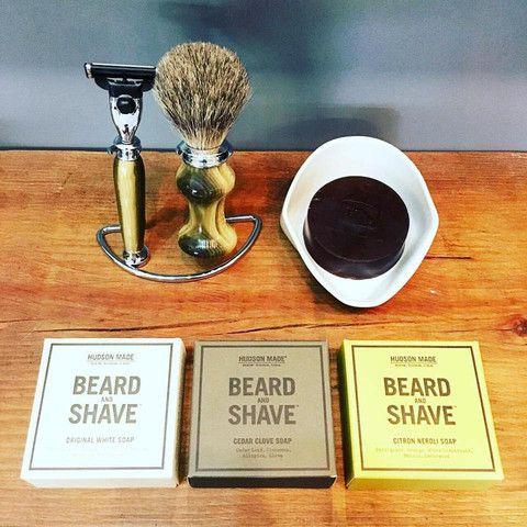 Hudson Made Beard & Shave Soap | Cedar Clove