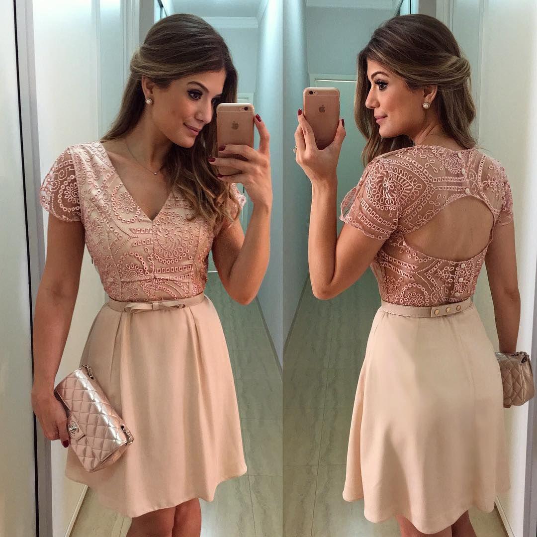 Rose} Vestido @raizzdamoda delicadinho do jeito que eu gosto ...