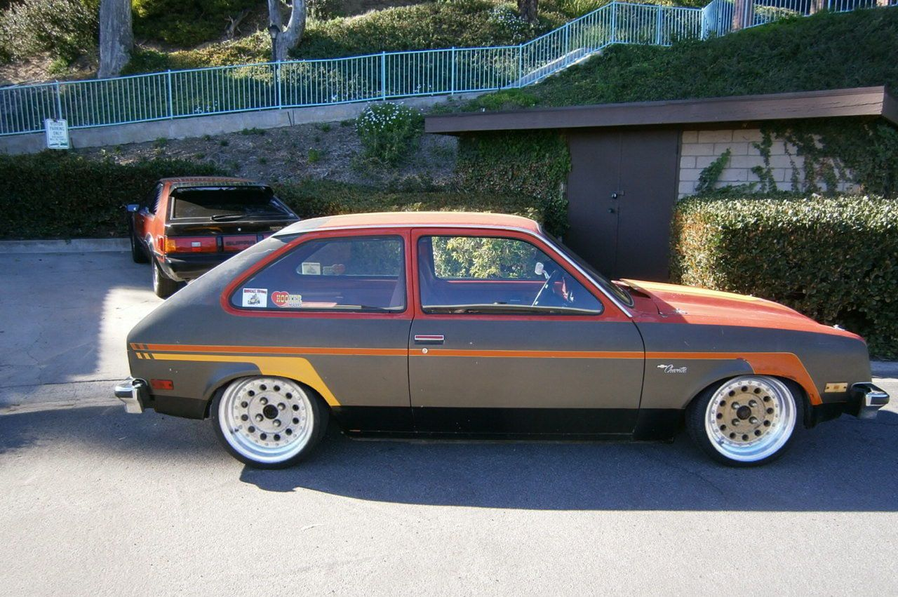 1976 Chevette V8 Vintage Muscle Cars Cool Cars Vintage Muscle