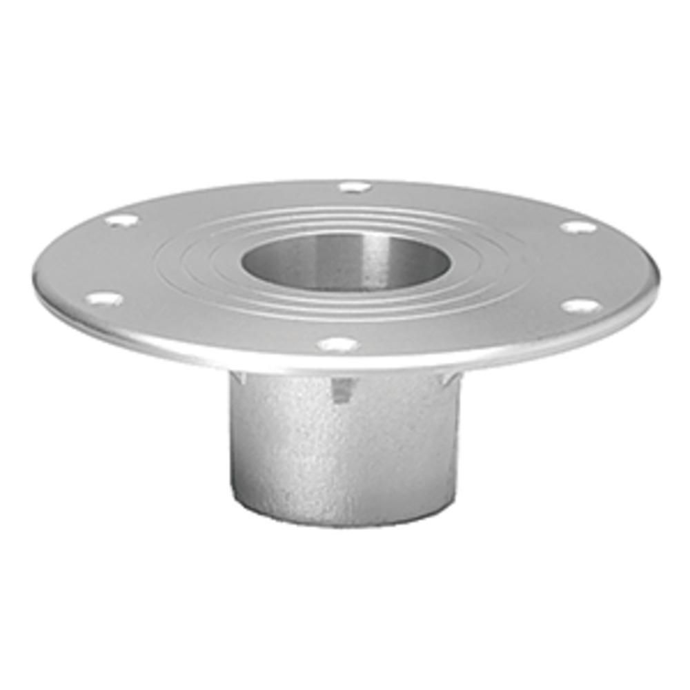 Taco table support flush mount fits pedestals in