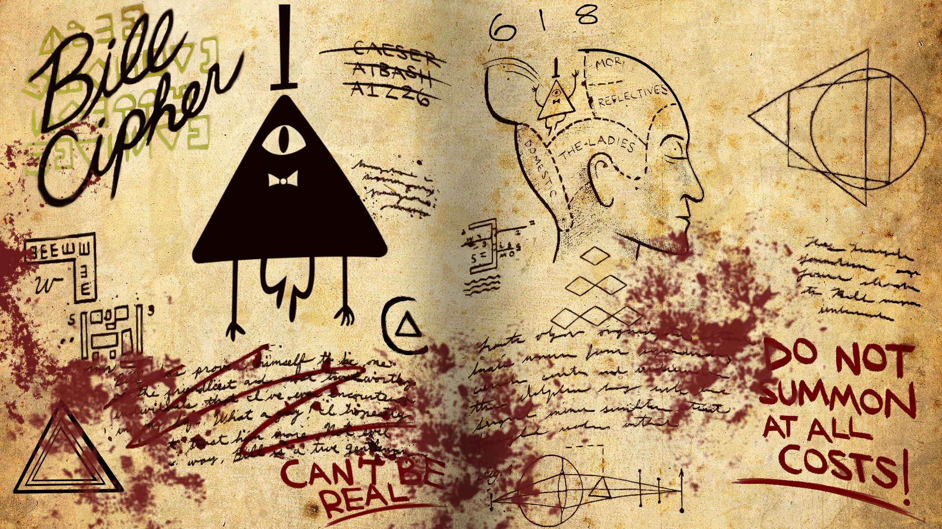 Bill Cipher by on deviantART