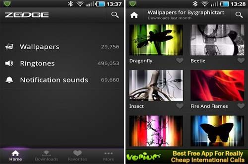 Zedge Ringtones Wallpapers Apk Android Free Download