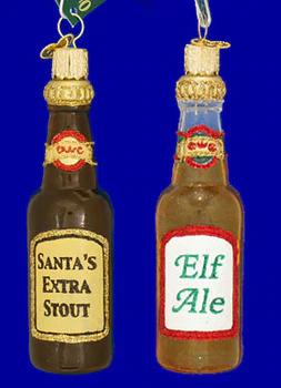 Corona Beer Bottle Glass Ornament 5 1 4 Kace4161 Glass Ornaments Beer Theme Glass Christmas Ornaments