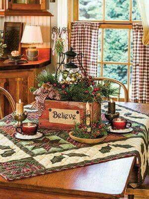 explore christmas tables christmas things and more - Rustic Country Christmas Table Decorations