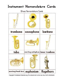 Instrument Cards, Composer Cards, Music Notation Cards ...