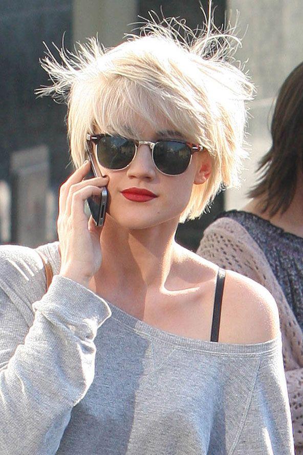 Groovy Blonde Ambition Katie Waissel Hair I Love Pinterest Hairstyles For Women Draintrainus