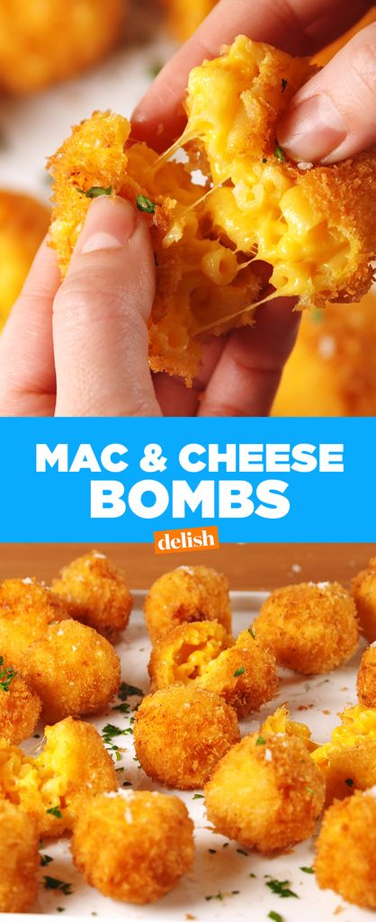 This Fried Mac & Cheese Bomb Recipe Is Dangerously Cheesy