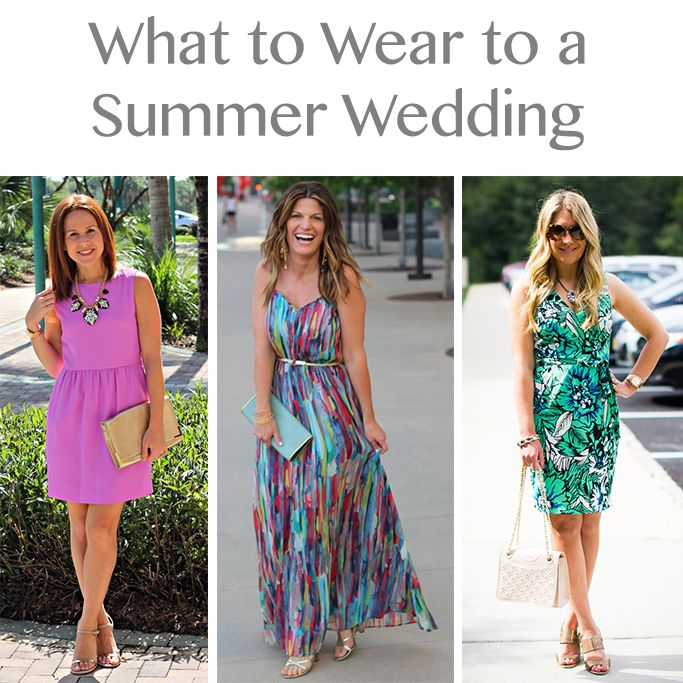 Maxi Dresses What To Wear A Summer Wedding 3 Bloggers X Ways