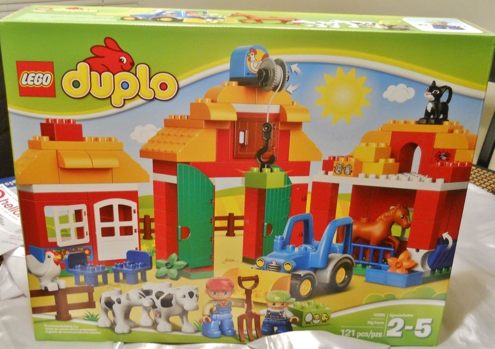 Farm Toddler Toys Age Two : Christmas gift for kids lego duplo big farm toys