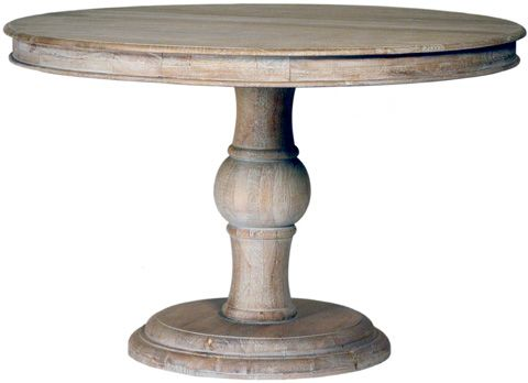 Dovetail Furniture Arturo Dining Table In Sienna Gray