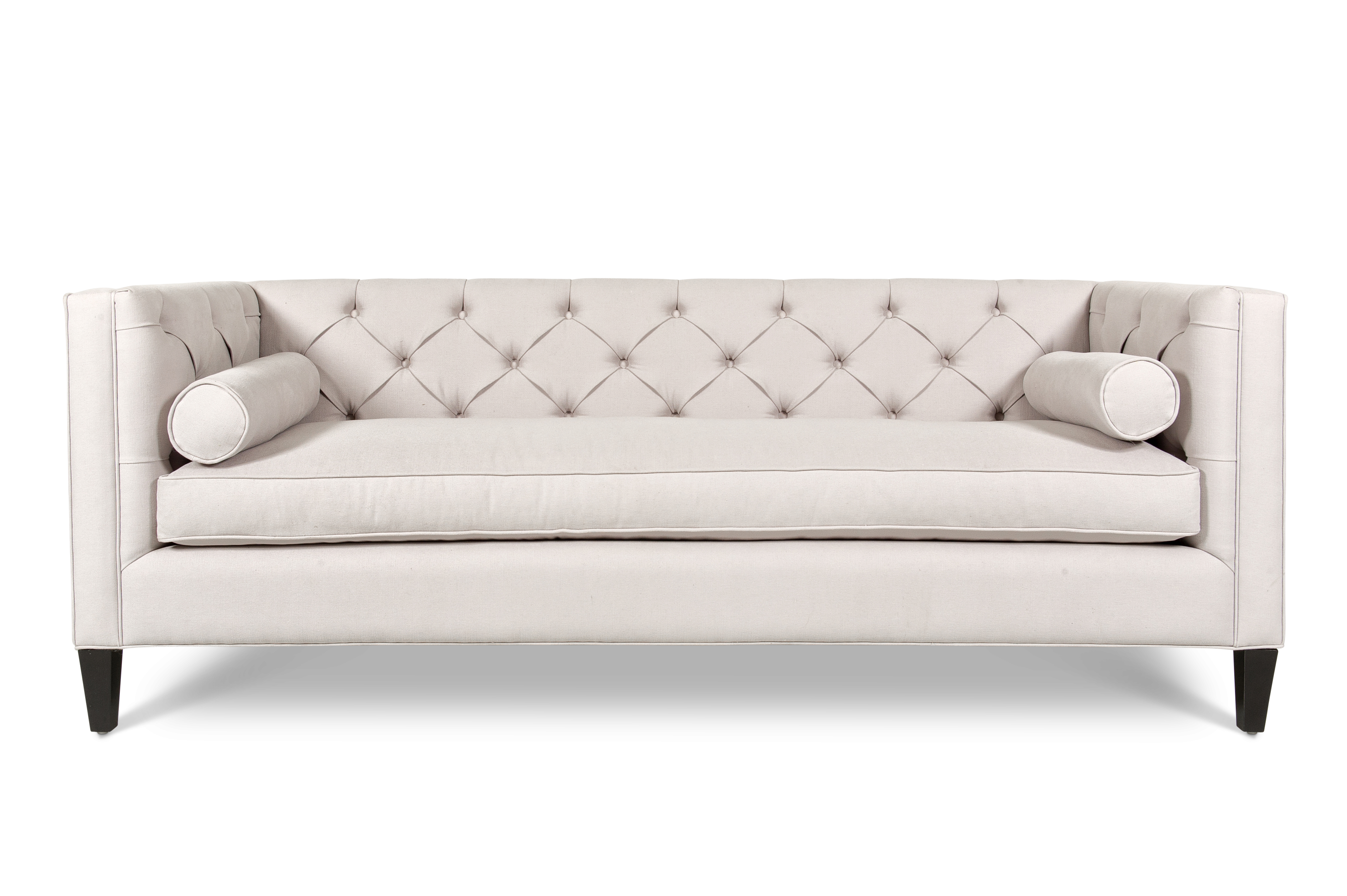 Aaron Tufted Large Sofa In Beige Large Sofa Tufted Sofa Sofa