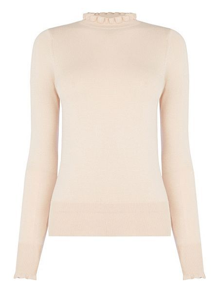 9d8c4e82bf56 Oasis - Cute Frill Knit - £28 - love this! The frill neckline is ...