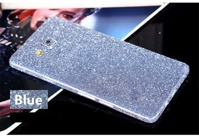 Phone Bling Sticker For Samsung Galaxy A7 A5 2015 Fashion Full Body Decal Skin Bling Glitter Sticker Wray Case Cover Skin