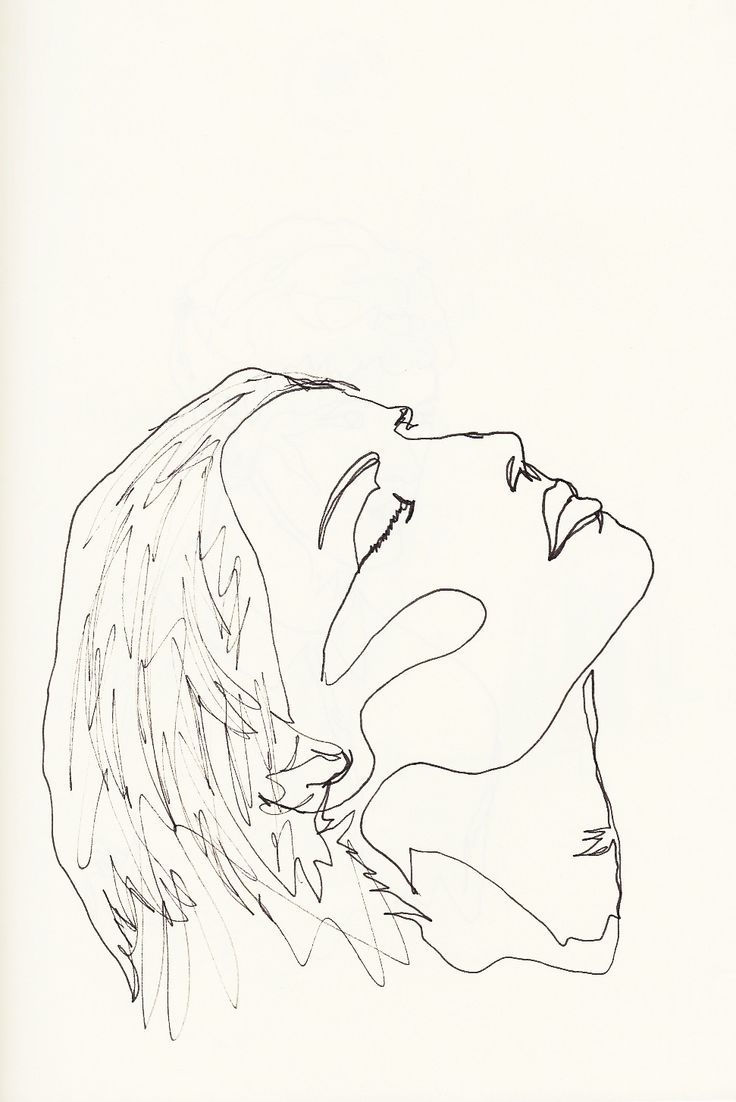 Image result for screen print woman line drawing print