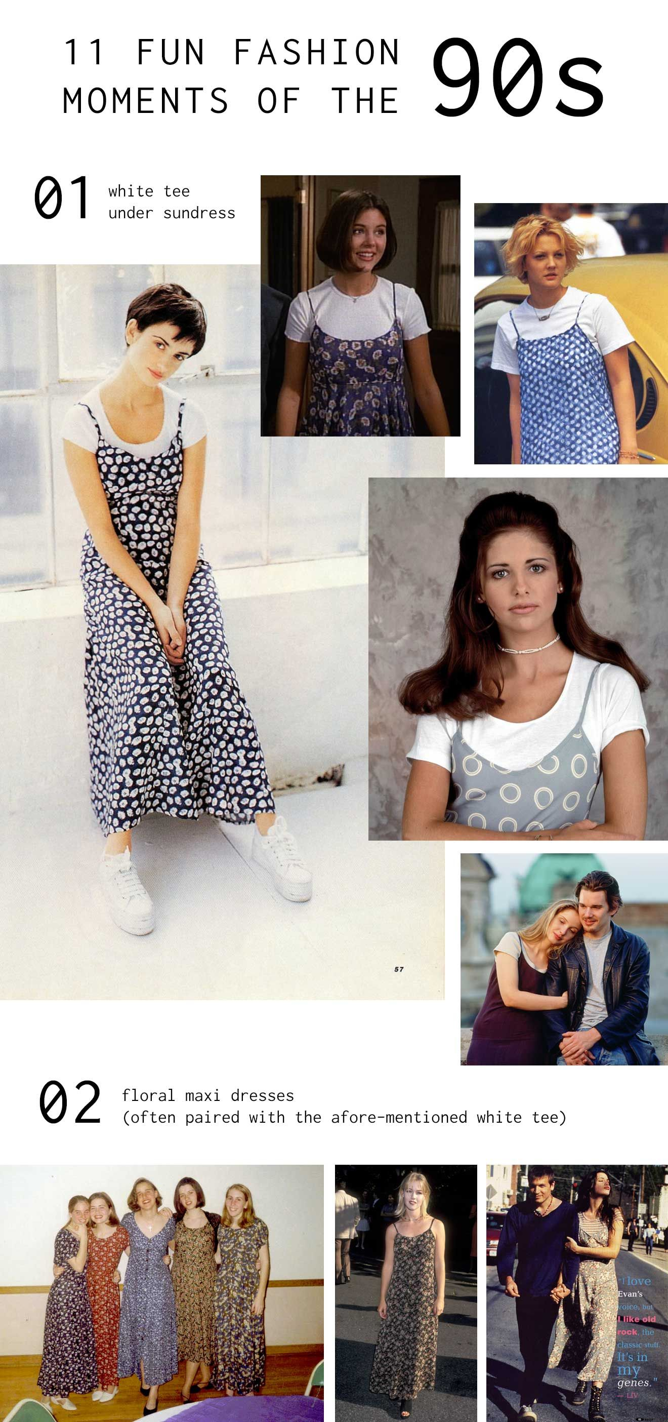 age 7 maxi dress 90s