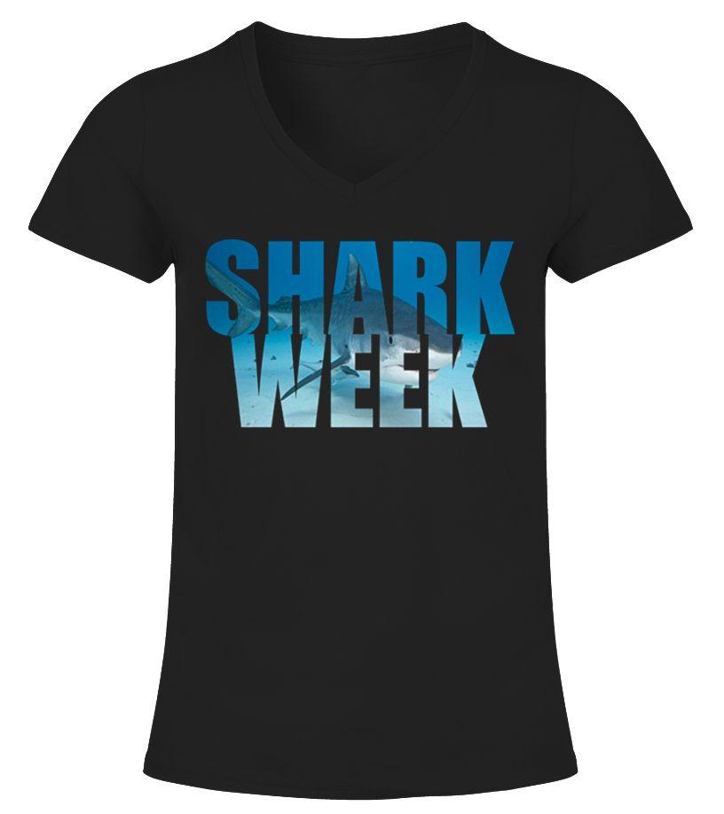 tee shirt vans shark week