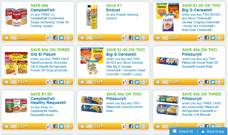 FREE *new* Printable Coupons   Closet of Free Samples