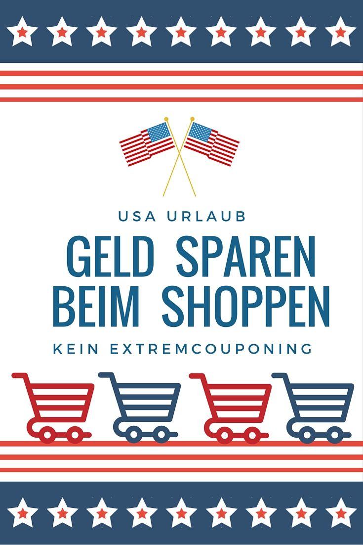 Spare Geld beim Shoppen im USA Urlaub