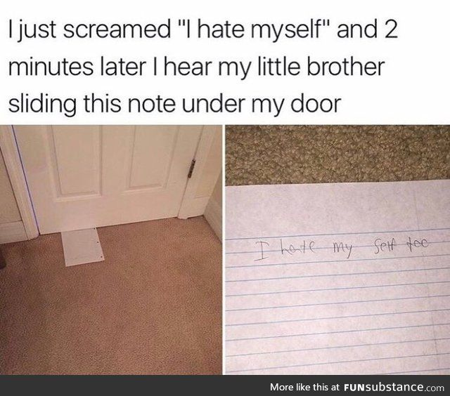 Good Brother Funsubstance Funny Quotes Relatable Funny Me