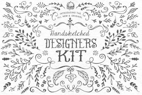 30%off till 15 June:Handsketched Kit ~ Illustrations on