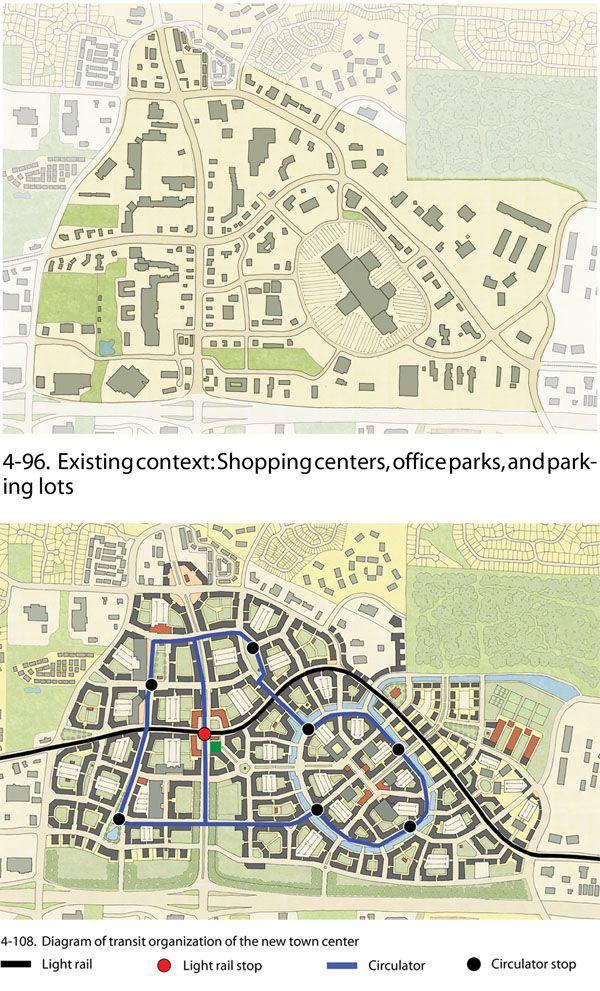 Suburban sprawl repair: http://www.sprawlrepair.com/blog.html