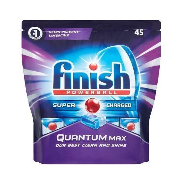 Finish Quantum Dishwasher Tablets - Regular, 45 Tablets X 2 #Finish