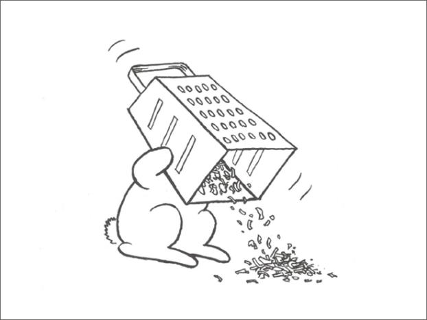 Las polémicas viñetas de Andy Riley sobre un conejo suicida, pone de mala leche a los animalistas. | LikeMag | We Like You