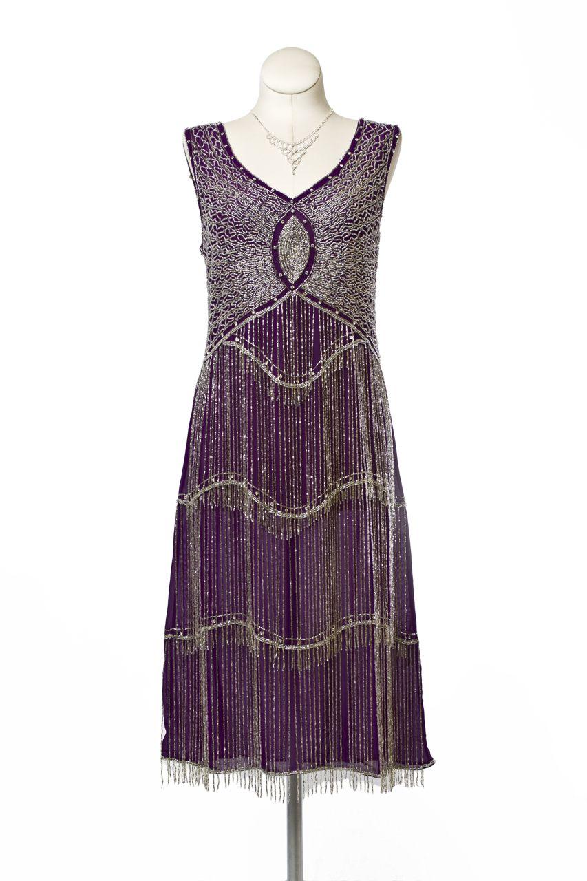 Cabaret Vintage - 1920s Style Purple Flapper (051), $295.00 (http ...