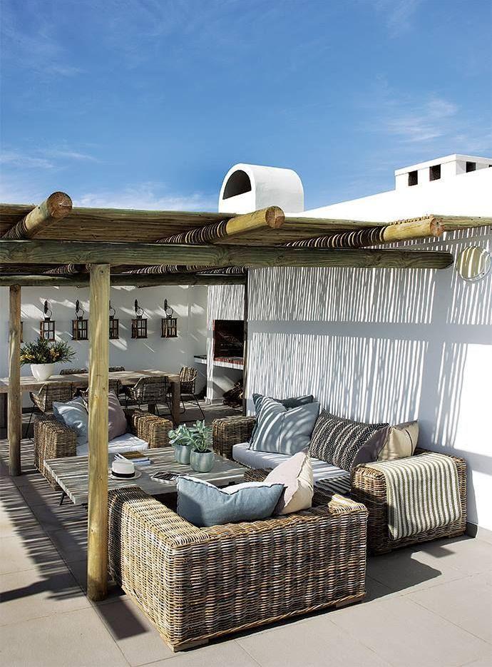 Idee per piccoli e grandi terrazzi (con immagini