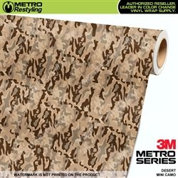 Mini Desert Camo Vinyl Wrap Metro Restyling Vinyl Wrap Vinyl Desert Camo