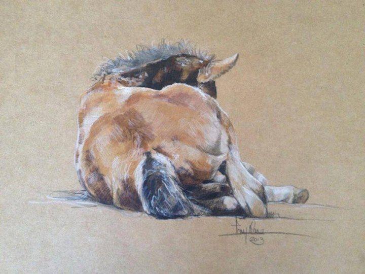 Foal Art by Tony O'Connor whitetreestudio.ie