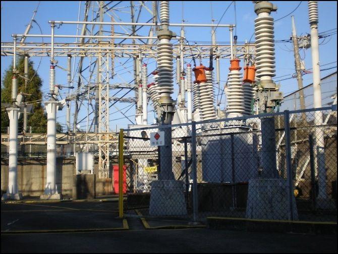 Inokashira_line_kugayama_electrical_substation
