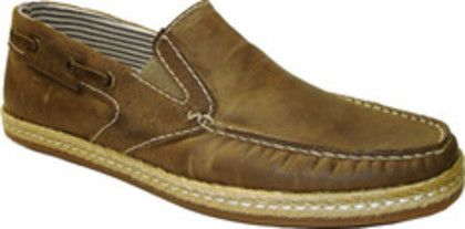 GBX 09113 (Men's) - Taupe Oiled Calf/Velour Suede   $64.95