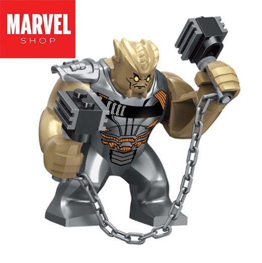 LEGO Avengers Unendlichkeitskrieg CULL OBSIDIAN Minifigur Thanos Black Order Big Fig  LEGO Avengers Unendlichkeitskrieg CULL OBSIDIAN Minifigur Thanos Black Order Big Fig...