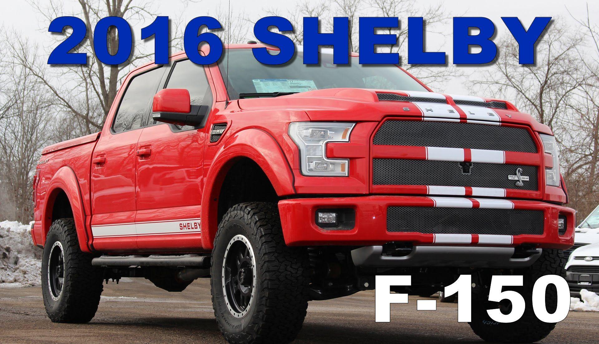 2016 shelby f150 Buscar con Google Camionetas Ford