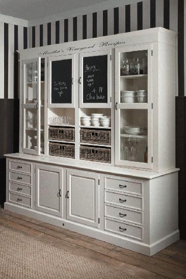 Martha's Vineyard Recipes Cabinet - what a great piece! Walltowallyork.co.uk