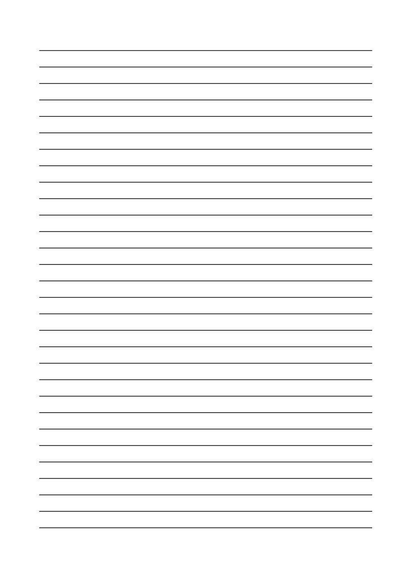 Kostenlose Vorlage Linienpapier | Printables - Papers | Pinterest ...