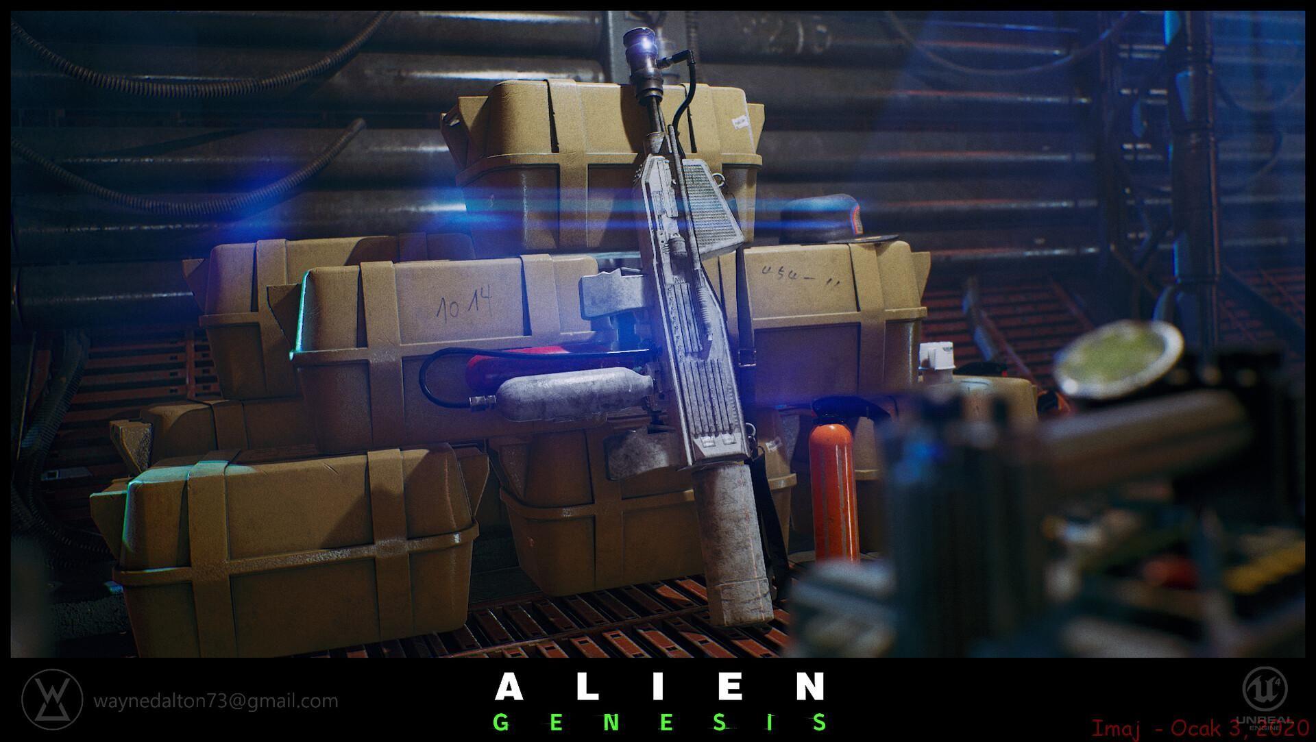 The Fan Made Alien Genesis Looks Great 2020
