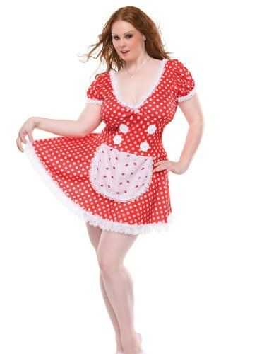 5f1f7927285c0 June Cleavage Sexy 50s Housewife Plus Size Costume, http://www.amazon