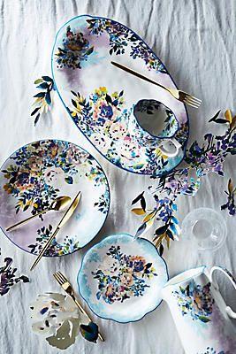 Gardenshire Dinner Plates Anthropologie - Spring Dinnerware & Gardenshire Dinner Plates Anthropologie - Spring Dinnerware | dinner ...