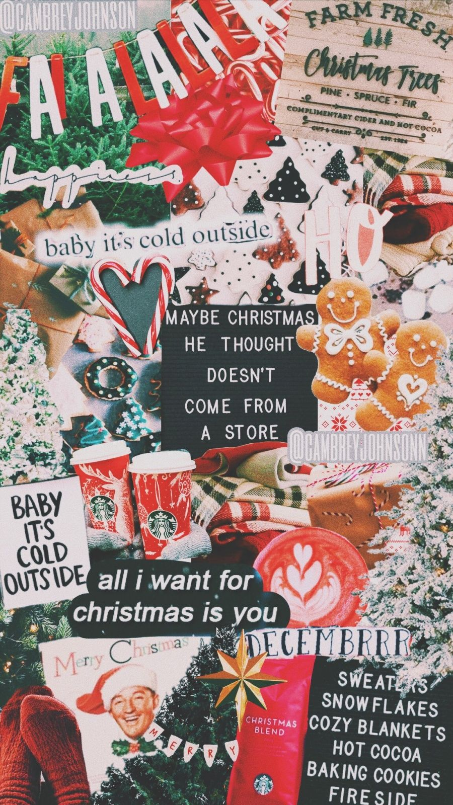 VSCO cambreyjohnson Images Cute christmas wallpaper
