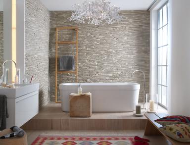Wandverkleidung Von Holz Bis Stein Bathrooms Pinterest