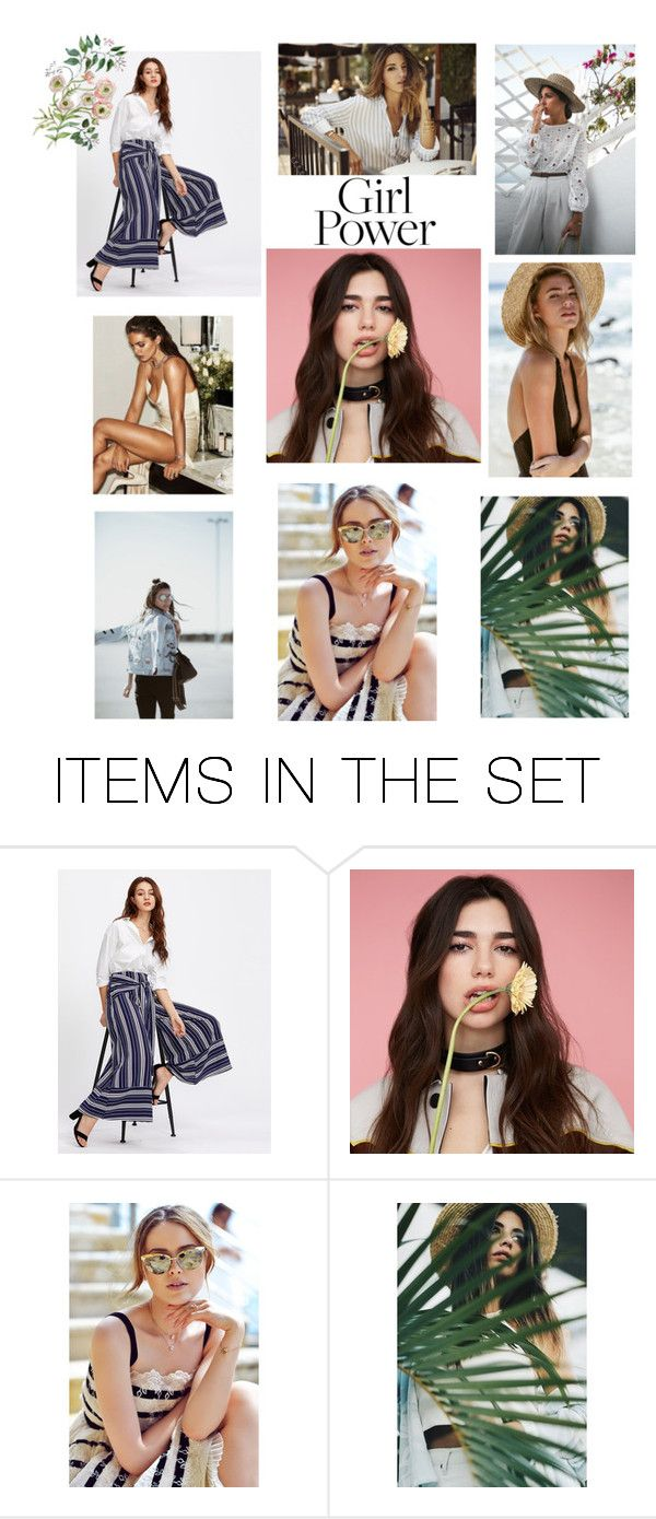 """""""Girl Power 💖💖"""" by magnificentmichelle ❤ liked on Polyvore featuring art"""