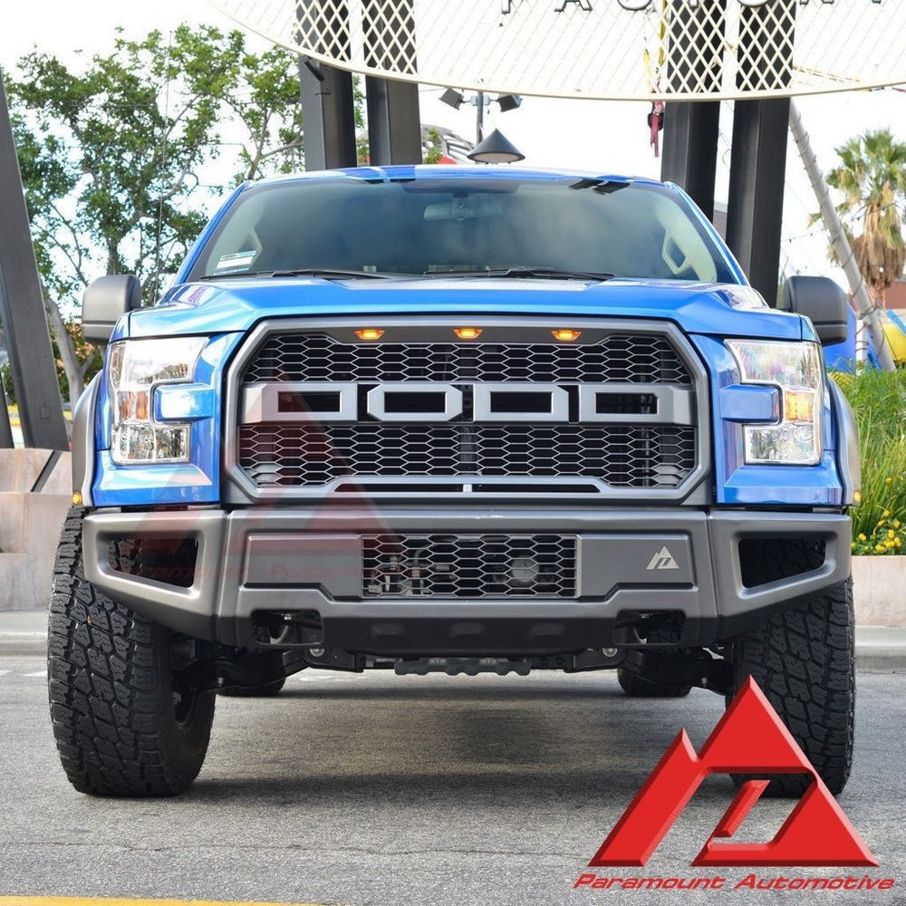 Ford f 150 2015 2016 paramount 17 raptor style mesh grille front bumper
