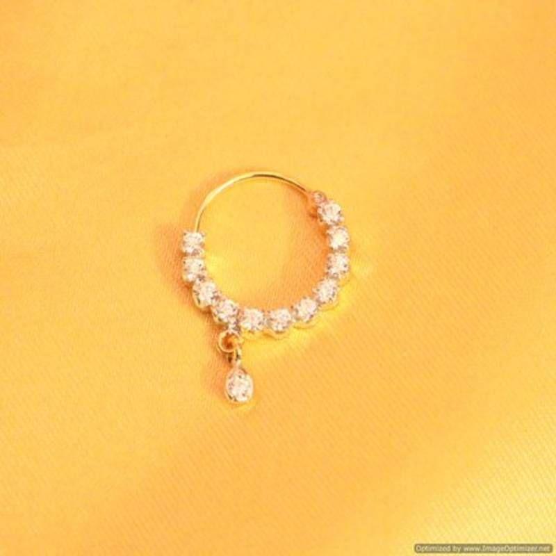 Diamond look marathi nose ring | Antique jewellery online ...