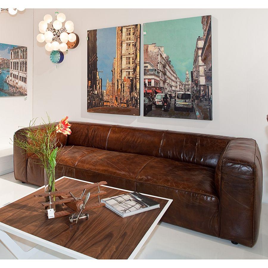 Malerisch Sofa Echtleder Referenz Von Echtleder-sofa Cubetto - Buy It On Fablife.de