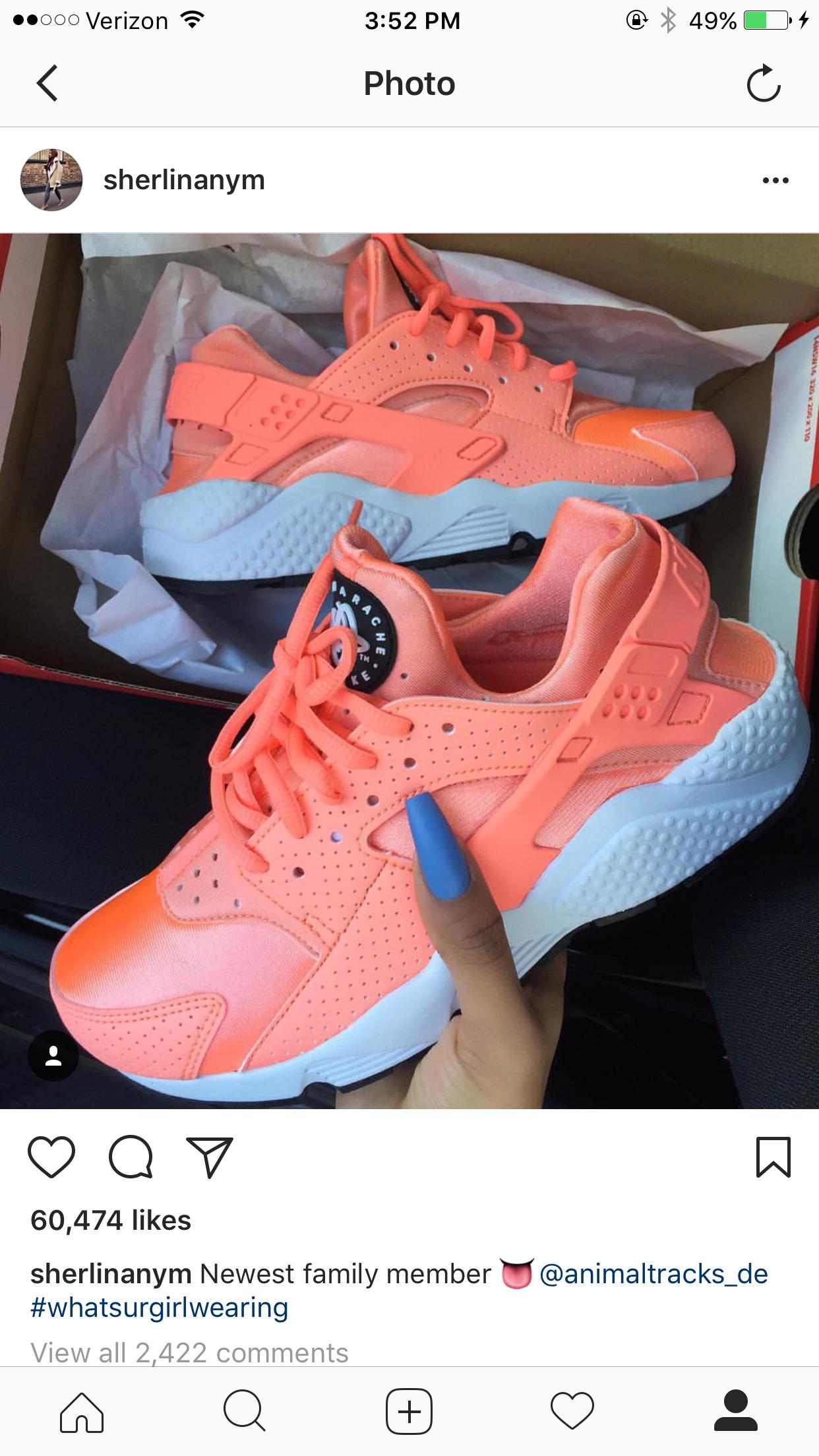 Snapchat  ShaunaNaya YouTube  ShaunaNana Instagram  Highlyfavored nana Nike  Air Huarache ee5194e5e